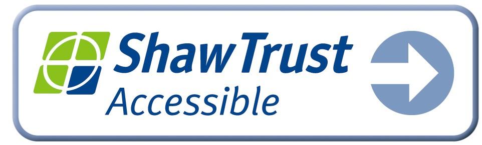 Shaw Trust accessibility logo
