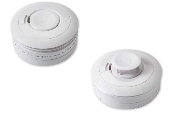 Product image of assistive technology smoke and heat detector device