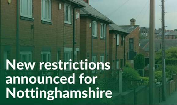 New restrictions announced
